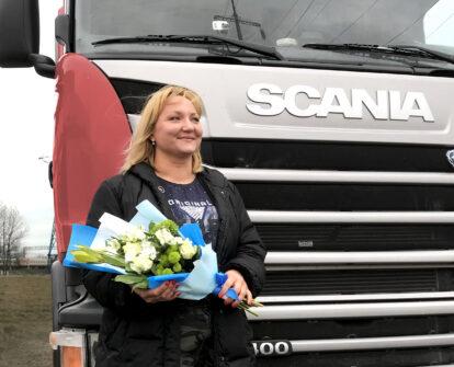 В ГК «МОНОПОЛИЯ» появилась первая женщина-водитель
